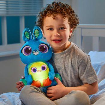 Doudou avec veilleuse Toy Story Ducky & Bunny