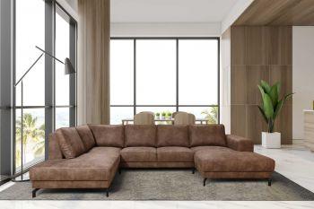 Canapé d'angle Wout - droit