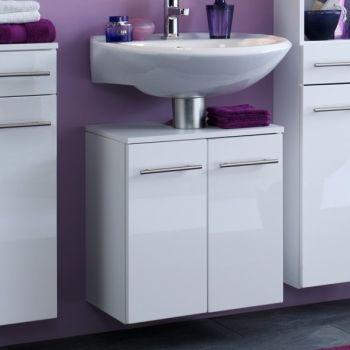 Meuble sous lavabo Small 50cm - blanc brillant