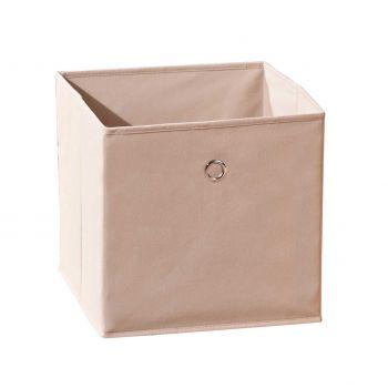 Boîte de rangement pliable Winny - beige