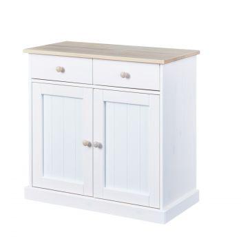 Bahut Flens 2 tiroirs & 2 portes