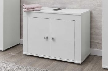 Meuble sous lavabo Rutger 2 portes - blanc