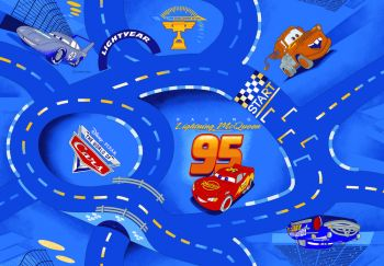 Tapis Cars - World of Cars blue