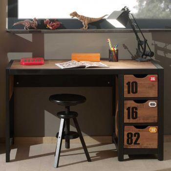 Bureau Alex 130 cm - industriel