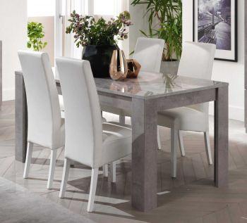 Table à manger Greta 160 cm - béton