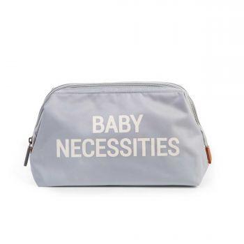 Trousse de toilette Baby Necessities - gris/écru
