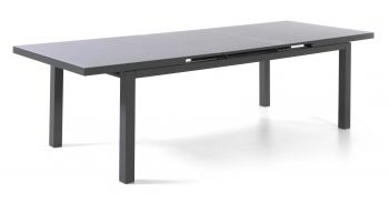 Table de jardin extensible Calvi 220/280 - anthracite