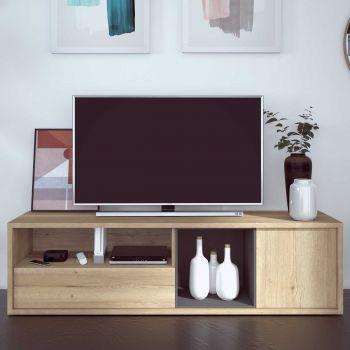 Meuble tv Frame 177cm - chêne clair