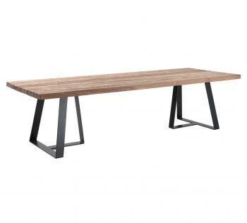 Table de jardin rectangulaire Margarite
