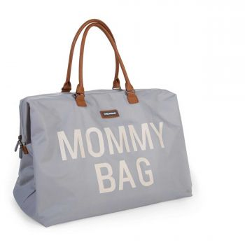 Sac à langer Mommy Bag - gris/écru