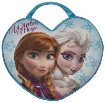 2-en-1 Coussin et Sac La Reine des Neiges