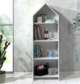 Bibliothèque Casami maison - blanc