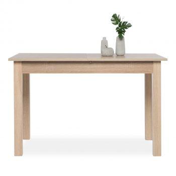 Table à manger extensible Coburg 120/160 - chêne