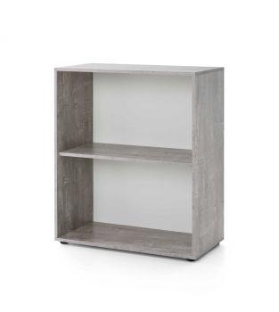 Etagère Maxi-office large - béton/blanc