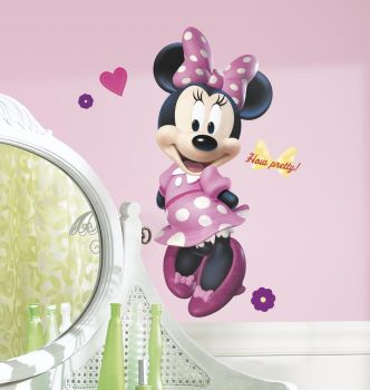 RoomMates stickers muraux - Minnie Mouse maxi