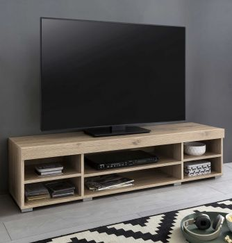 Meuble TV Flint 140cm - chêne