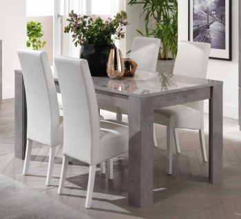 Table à manger Greta 190 cm - béton