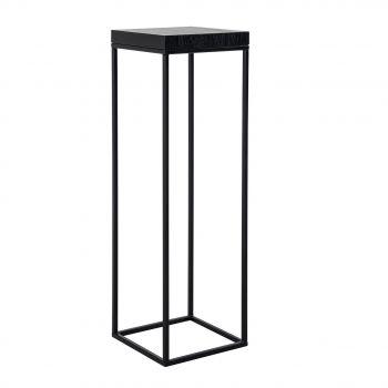 Table d'appoint haute Oakura 30x30cm - noir