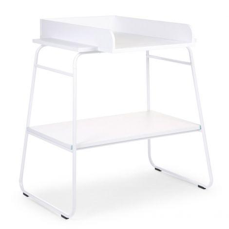 Table à langer Ironwood large - blanc