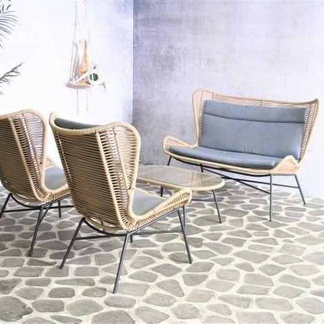 Salon de jardin Teejay - sable