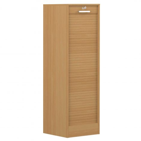 Armoire à volet William 138cm - chêne