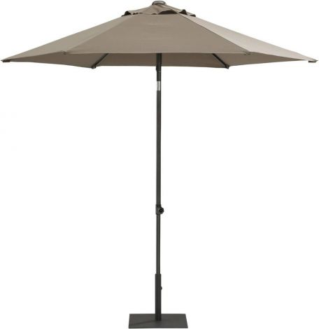 Parasol Push Up ø 250cm - taupe