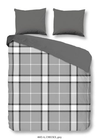 Housse de couette Checkx Grey 240x220cm