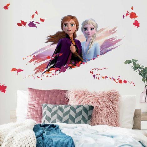 Sticker mural XL La Reine des Neiges 2 Anna & Elsa