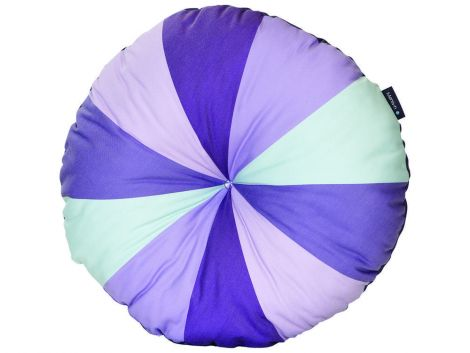 Coussin rond - violet