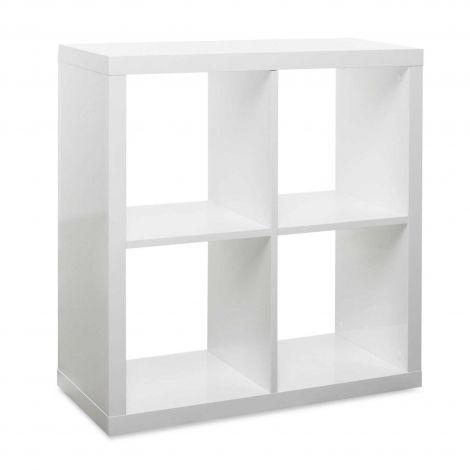Cube de rangement Milano 4 niches