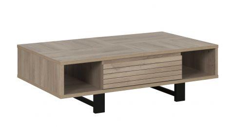 Table basse Clive 120x70 - chêne