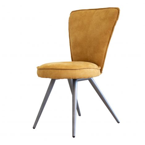 Jeu de 2 chaises Soraya - jaune