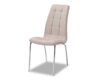 Lot de 2 chaises Merlino - cappuccino