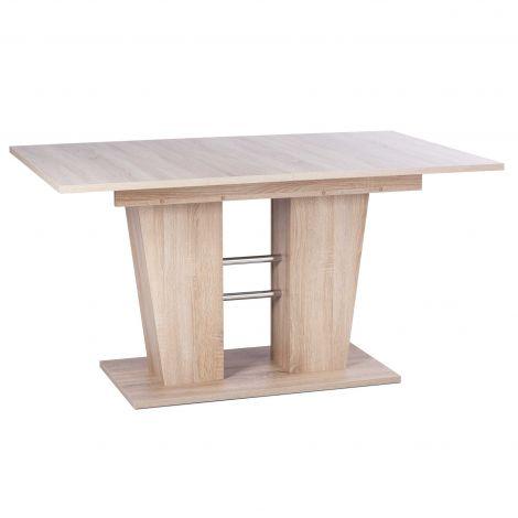 Table à manger extensible Breda - chêne