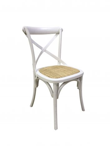 Lot de 2 chaises Erdo - blanc