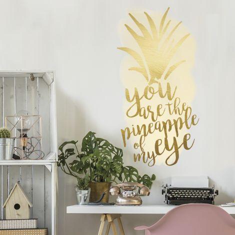 Sticker mural Pineapple of my Eye