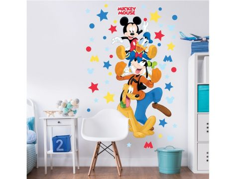 Sticker mural XL Mickey Mouse & Friends