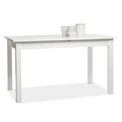Table à manger extensible Coburg 137/177 - blanc