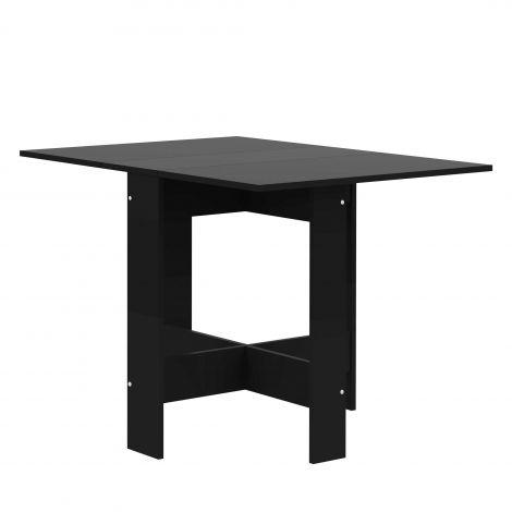 Table à manger Papillon 103 cm - noir