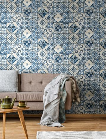 Papier peint adhésif Mediterranian Tile