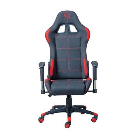 Chaise gamer Frasso - noir/rouge