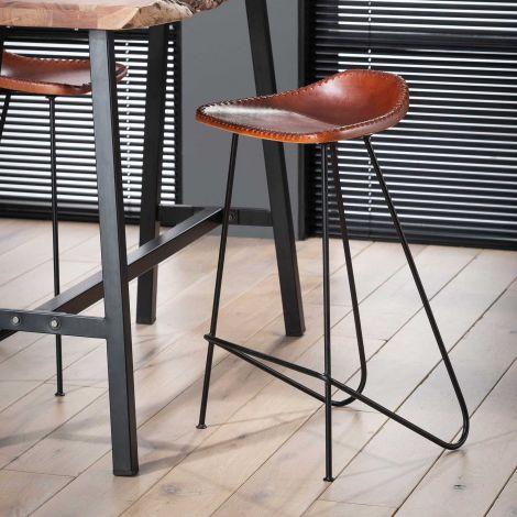 Lot de 4 chaises de bar Stig