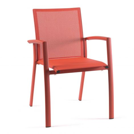 Chaise de jardin Do Re Mi - orange
