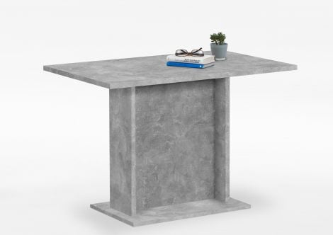 Table à manger Brandon 110x70 - béton