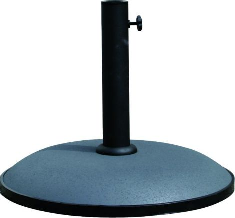 Pied de parasol rond en béton - 25 kg