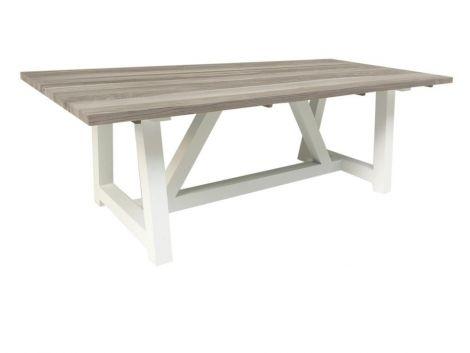 Table à manger Devonport - blanc