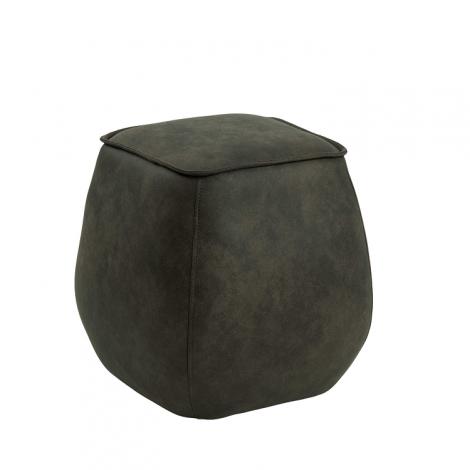 Pouf Mirza 40x40 - vert olive