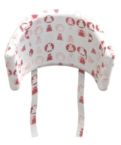 Coussin chaise haute Teddy Flexa Baby - rose