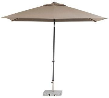 Parasol Push Up 200x250cm - taupe