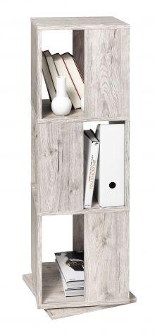 Meuble classeur Tower - chêne gris